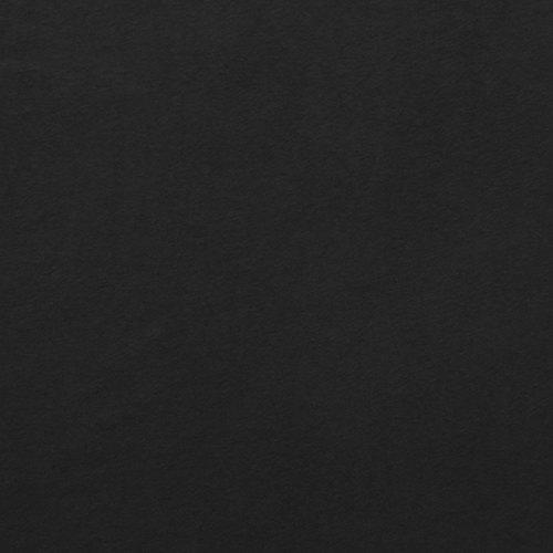 Solid Black 4 Way Stretch 10 oz Cotton Lycra Jersey Knit Fabric, 1 Yard