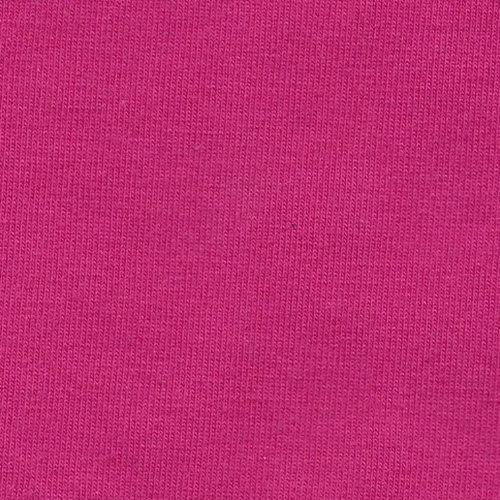 Solid Bright Fuchsia Pink 4 Way Stretch 10 oz Cotton Lycra Jersey Knit Fabric, 1 Yard - Raspberry Creek Fabrics