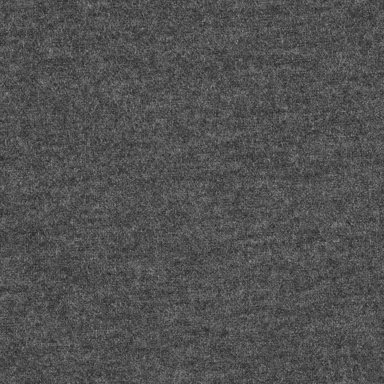 Solid Charcoal Grey 10 oz Cotton Lycra Jersey Knit Fabric, 1 Yard PRE-ORDER - Raspberry Creek Fabrics
