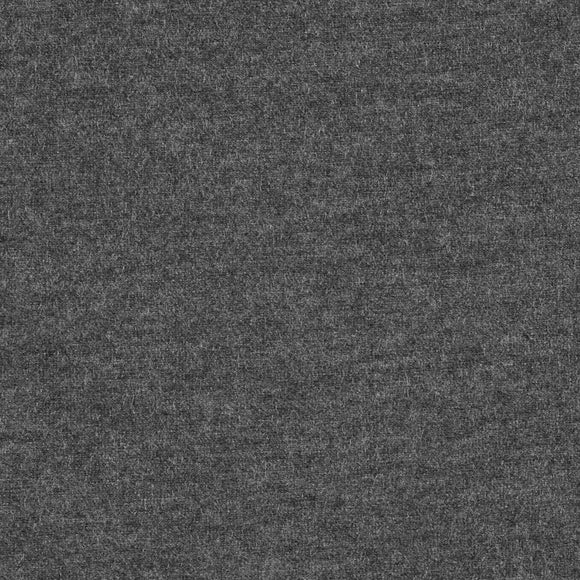 Solid Charcoal Grey 10 oz Cotton Lycra Jersey Knit Fabric, 1 Yard - Raspberry Creek Fabrics