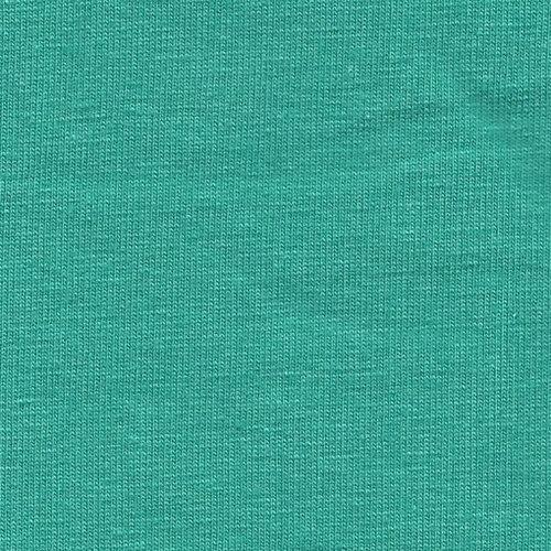 Solid Seafoam Green 4 Way Stretch 10 oz Cotton Lycra Jersey Knit Fabric, 1 Yard