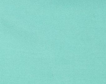 Solid Mint Rayon Challis, 1 Yard - Raspberry Creek Fabrics