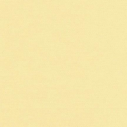 Light Yellow Powder Lemon Medium Weight Twill, Ventana Twill Collection by Robert Kaufman, 1 Yard - Raspberry Creek Fabrics