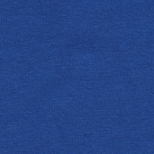 Royal Blue 4 Way Stretch 10 oz Cotton Lycra Jersey Knit Fabric, 1 Yard