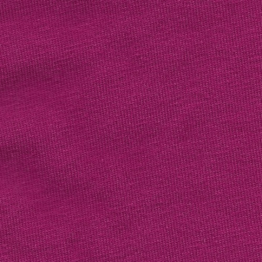 Solid Magenta 4 Way Stretch 10 oz Cotton Lycra Jersey Knit Fabric, 1 Yard