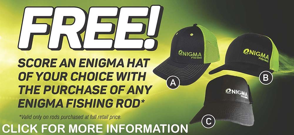Free Hat With Purchase. See Details.