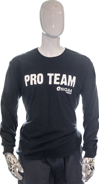 Enigma Pro-Team Long-Sleeve Black or Gray