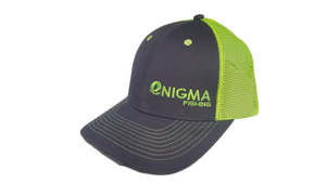 Snapback Enigma Grey and Green Hat