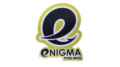Retro Enigma Fishing Decal