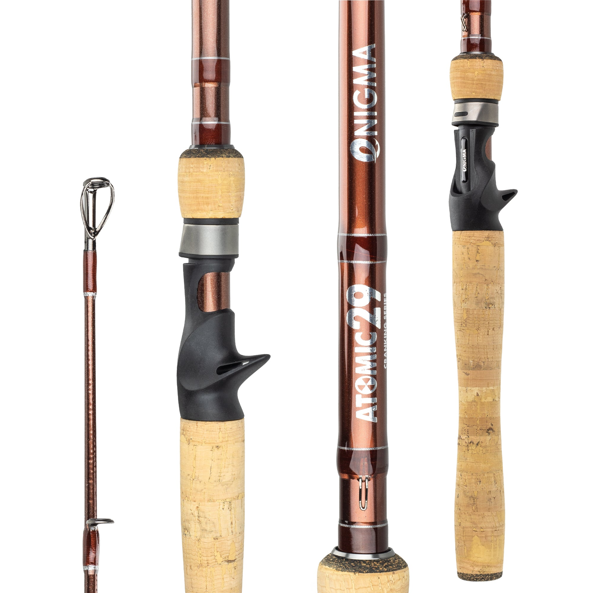 Atomic 29 Cranking Series - Pre Order Select Rods! Shipping 2nd week of Feb.