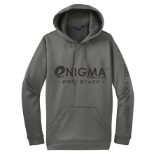 Enigma Fishing Pro Staff Hoodie - Gray or Lime