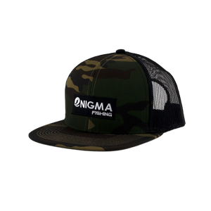 Enigma Fishing Patch Camo Snapback Hat