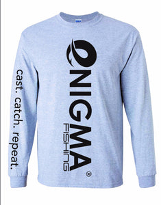 Enigma Gray Long Sleeve Shirt