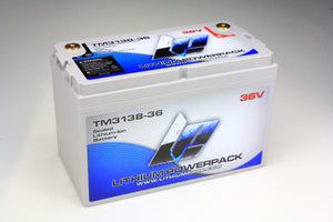 TM3138-36 38.4V 38Ah Lithium Ion Trolling Battery