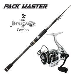 Pack Master Pesca Spinning Combo