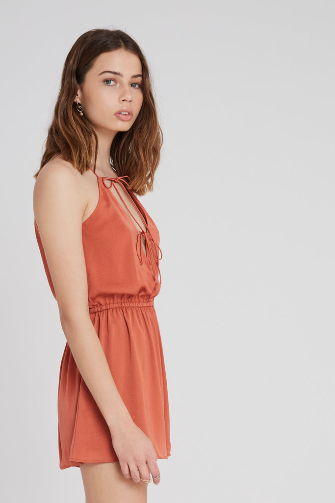 THE NIGHTINGALE PLAYSUIT copper