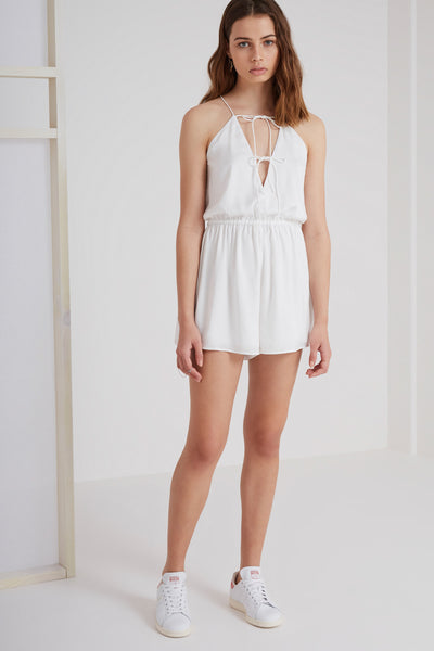 THE NIGHTINGALE PLAYSUIT ivory