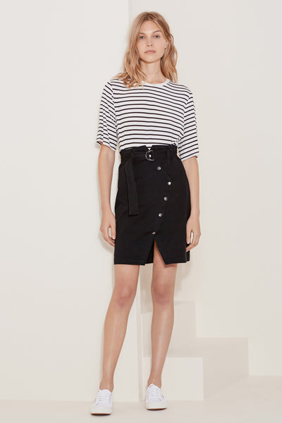 THE QUEST SKIRT black