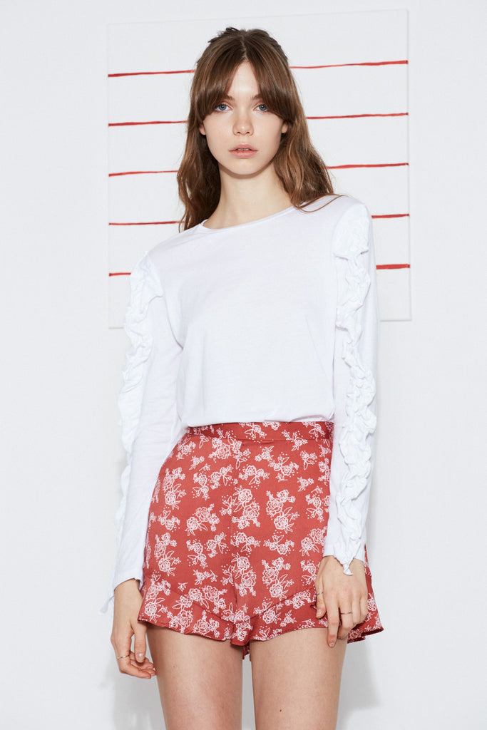 OPHELIA SHORT spice linear rose
