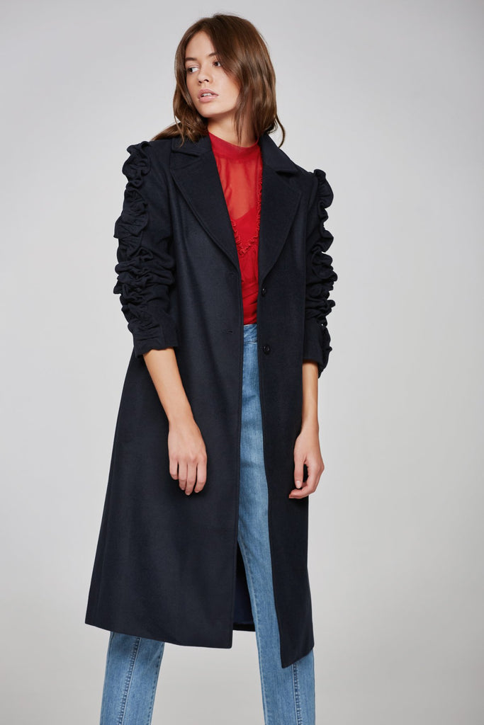 NARRATIVE COAT navy
