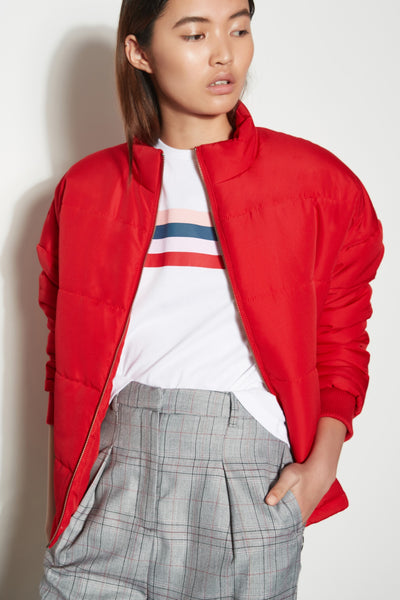 DRIFTWOOD JACKET red
