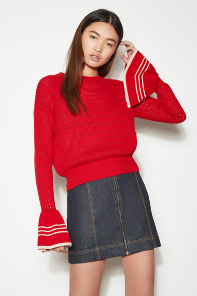 HABITAT KNIT red