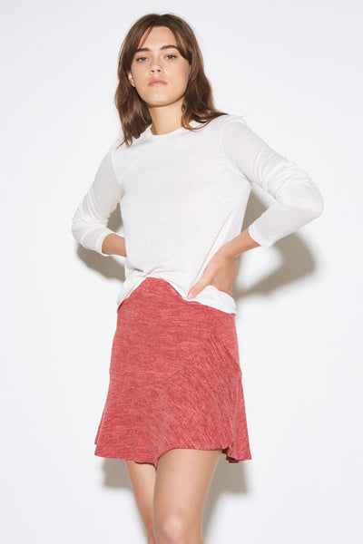 LILY SKIRT red marle
