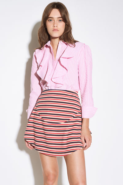 PARADE STRIPE SKIRT multicoloured