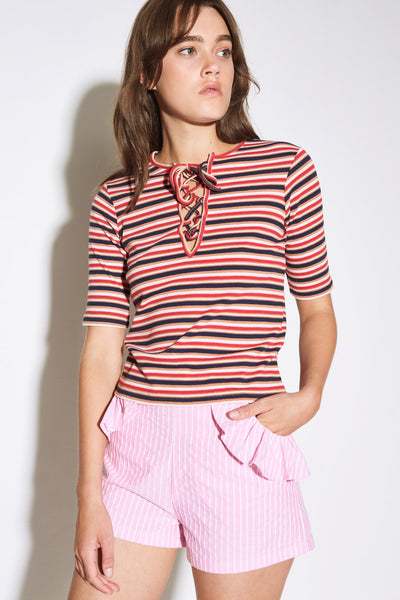 PARADE STRIPE T-SHIRT multicoloured