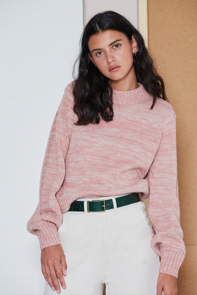 ACADEMY KNIT dusty pink