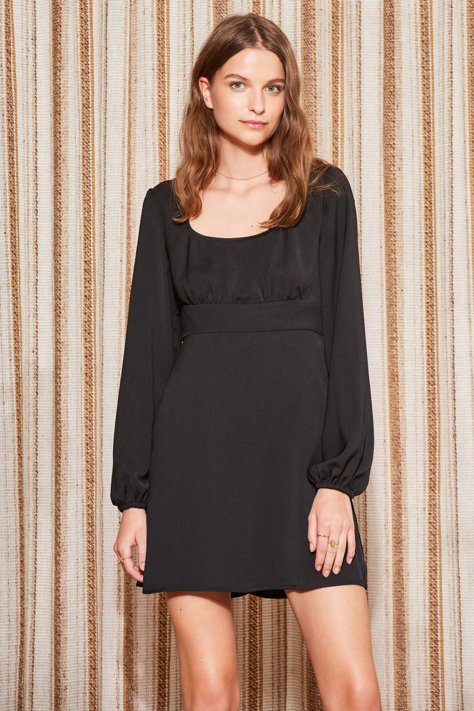 CIRCUIT LONG SLEEVE DRESS black