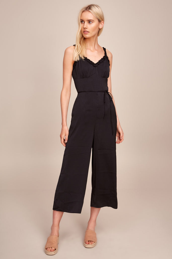ARCHER JUMPSUIT black