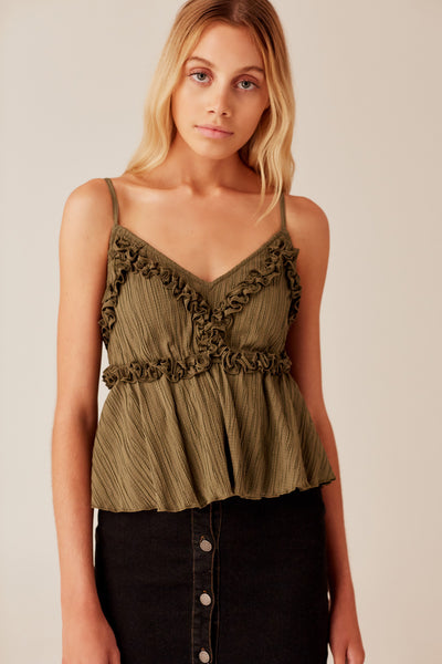 LIGHT YEAR CAMI khaki