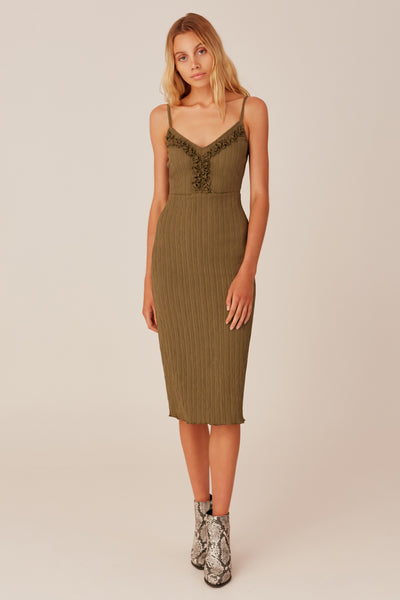 LIGHT YEAR DRESS khaki