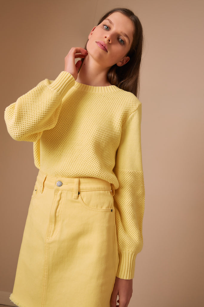 EVA KNIT lemon
