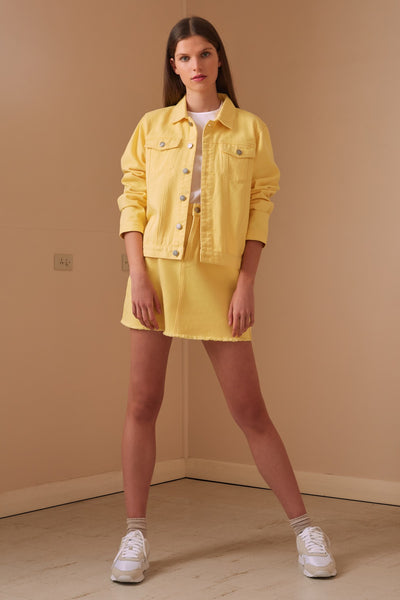 LILLIAN JACKET lemon