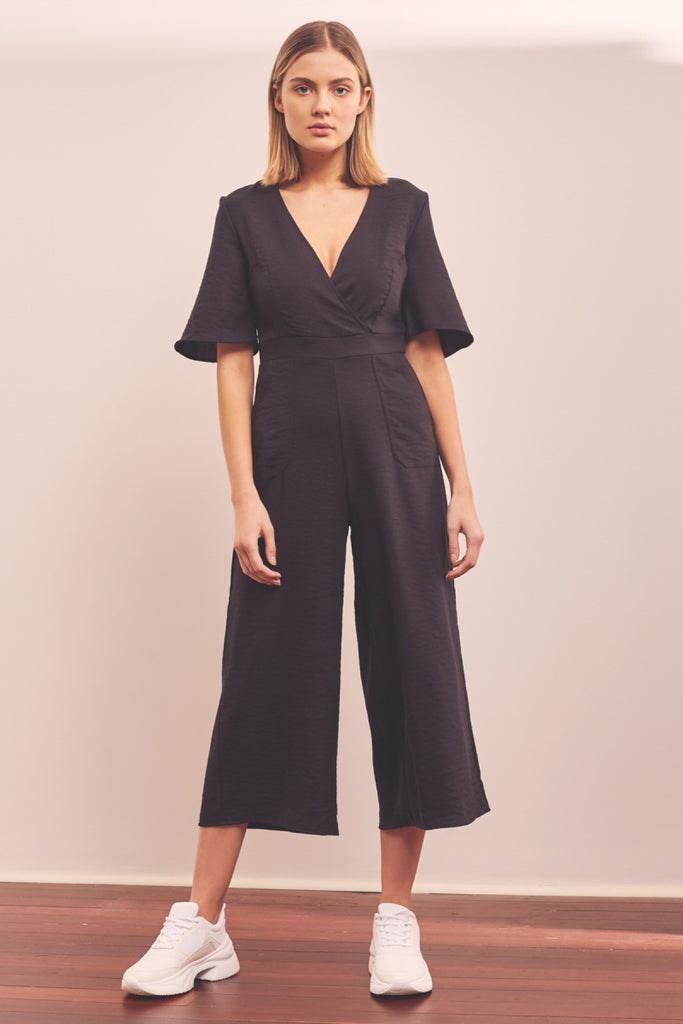 INTERCITY JUMPSUIT black