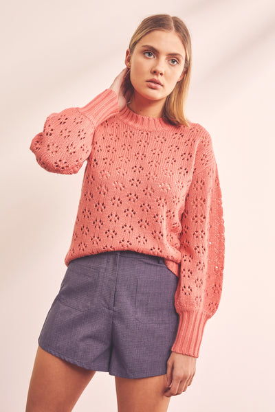 TRANSIT KNIT peach