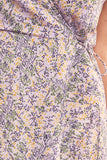 TOUR WRAP DRESS lavender field