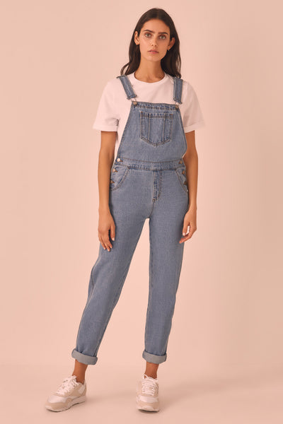 ARTHOUSE OVERALLS mid blue
