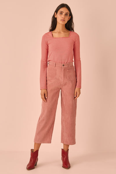 CITYSCAPE PANT dusty pink