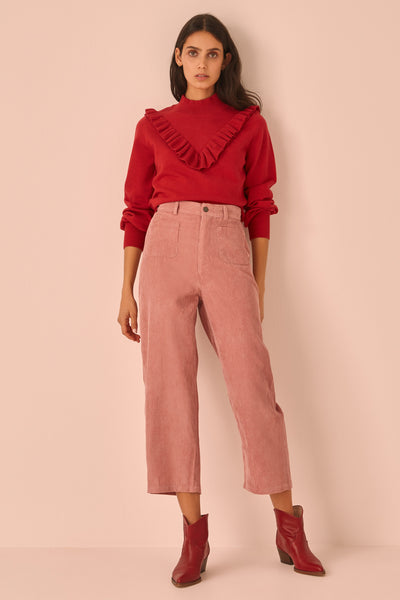 ROCOCO KNIT red