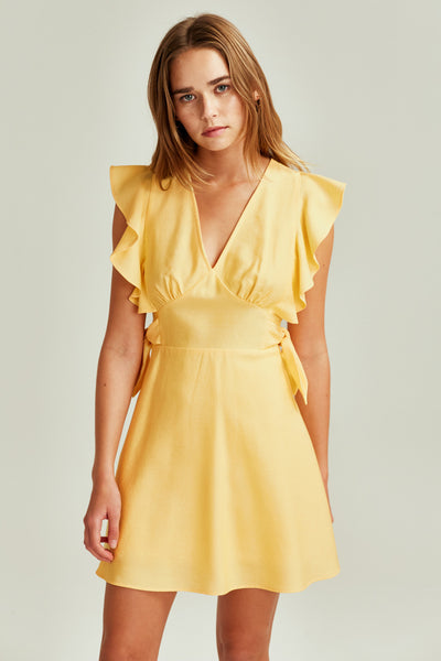 RESERVE DRESS daffodil