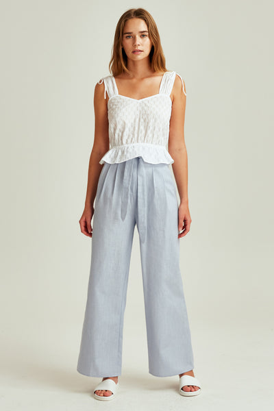 SAVANNAH PANT washed blue