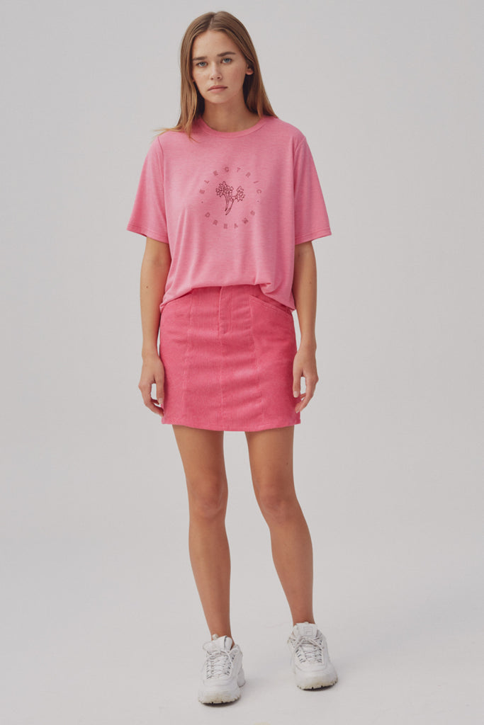 ELECTRIC DREAMS T-SHIRT raspberry marle