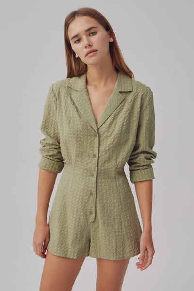 CONTEXT PLAYSUIT olive