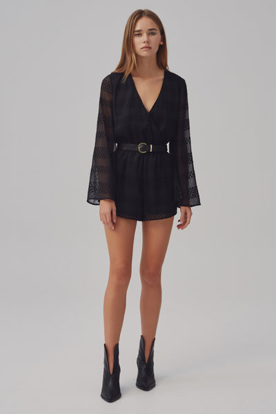VOLTAGE PLAYSUIT black