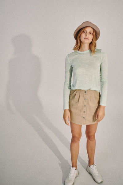 EASTERNER LONG SLEEVE TOP neon mint