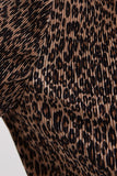 SALOON LONG SLEEVE TOP leopard