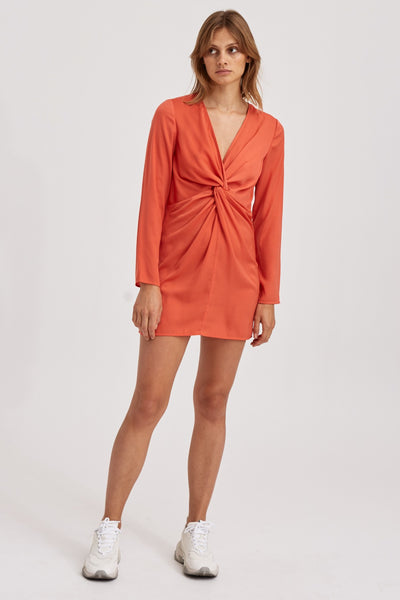 VALLEY DRESS orange